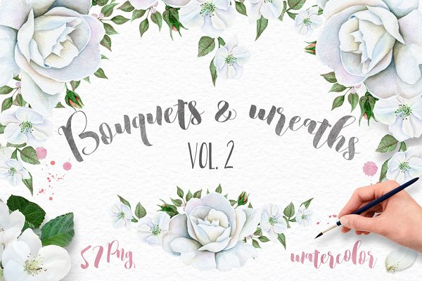 Wreaths and Bouquets collection V.2