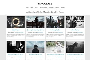 Magazazz Magazine Blog Theme