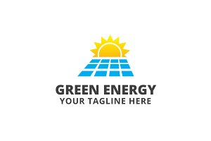 Green Energy Logo Template