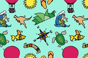 Australia pattern
