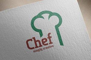 Chef - simply creative - Logo