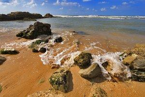 Coast of Mediterranean sea