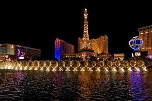 night urban celebration view