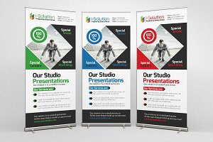 Business Roll Up Banners Templates