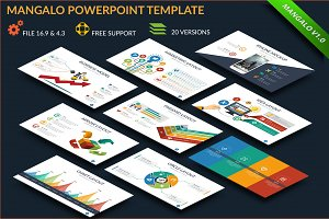 Mangalo Powerpoint Template