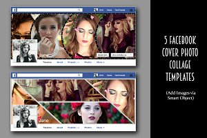 5 Facebook cover photo collage