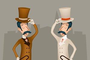 Victorian Businessman