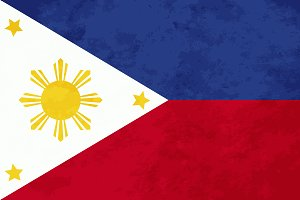 True proportions Philippines flag