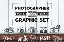 PHOTOGRAPHER. Cameras&Overlays Set