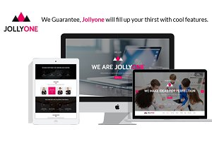 Jollyone - One Page Site Template