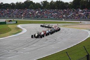 Formula Cars - line up