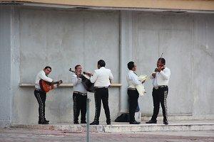 Mariachi practising