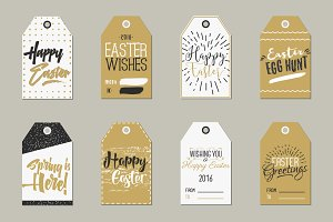 [50%OFF] Easter Gift Tags Collection