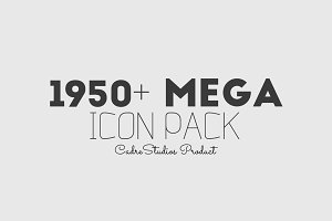 1950 MEGA ICON pack - (BIG DISCOUNT)