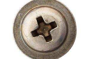 Rusty screw heads