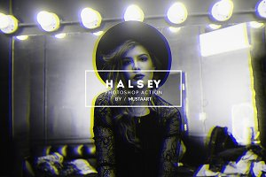 Halsey - Photoshop Action