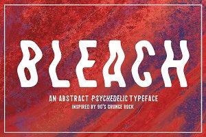 Bleach / Sans-Serif Typeface