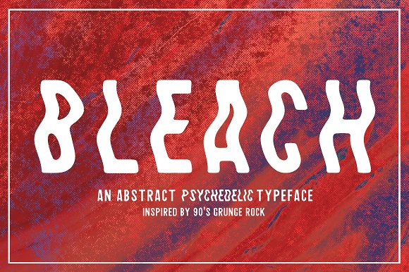 Bleach / Sans-Serif Typeface - Sans Serif