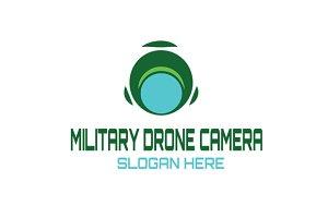 Military Drone Camera Logo