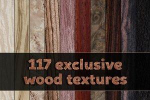 Exclusive wood veneer textures pack