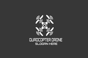 Quadcopter Drone Logo