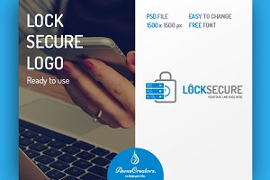 Lock Secure Logo