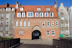 The Cow Gate in Gdansk