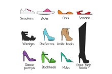 Women shoes models