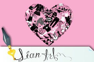 I Love Shopping image, the heart