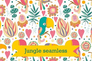 Jungle seamless