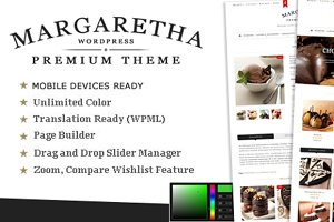 Margaretha - Woocommerce Premium The