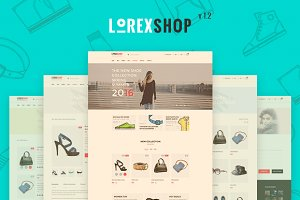 LOREX - E-commerce PSD Templates