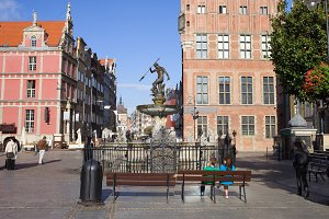 Gdansk Old Town Square