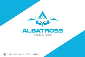 Albatross Logo template