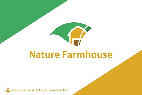 Farm House Logo Template