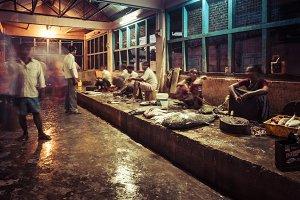 The fishmonger