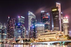 Singapore City Landscape