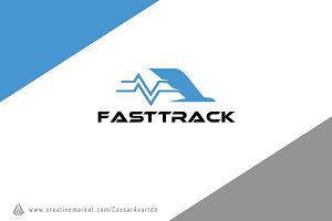 Fast Track Logo Template