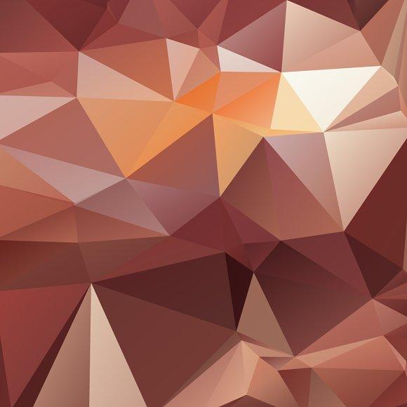 ombre geometric 3d wallpaper - photo #6
