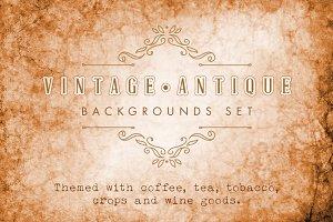 Vintage & Antique Backgrounds Set