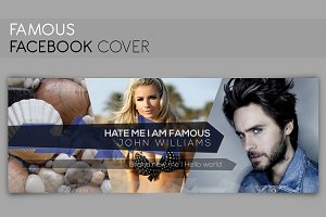 Facebook Cover - FAMOUS