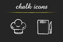 Kitchenware. 4 icons. Vector