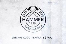 Vintage Logo Templates | Vol. 1