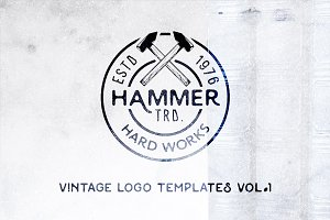 Vintage Logo Templates | Vol. 1