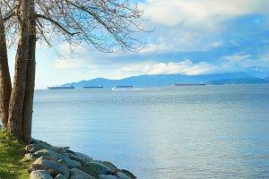Sea near Vancouver Canada