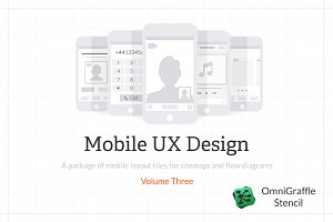 Mobile UX Design Tiles V3