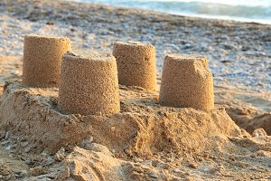 Towers from sand