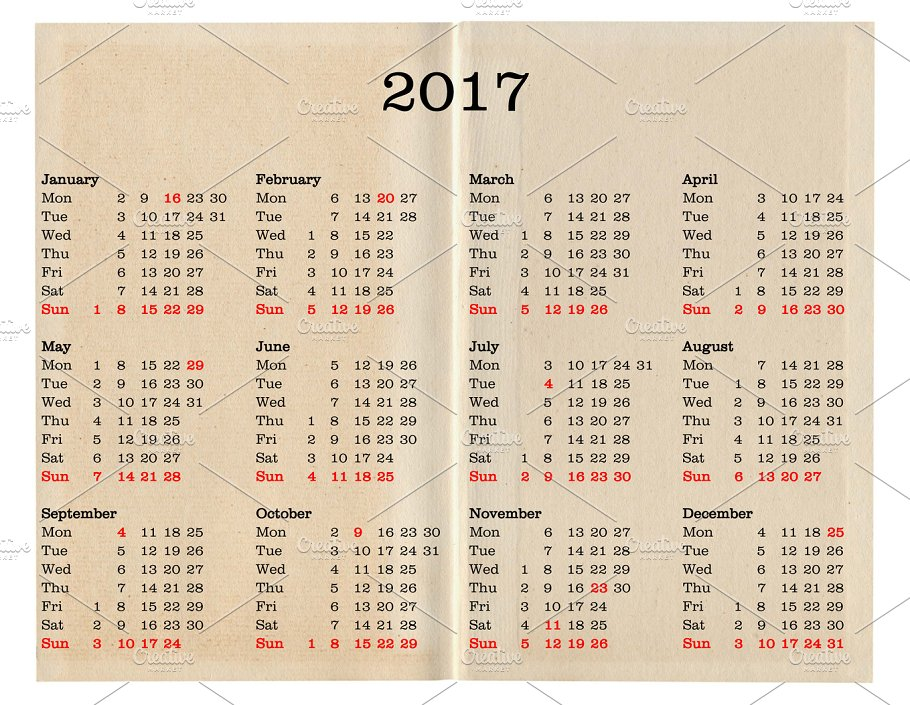 Year 2017 calendar united states of america photos creative year 2017 calendar united states of america photos publicscrutiny Image collections