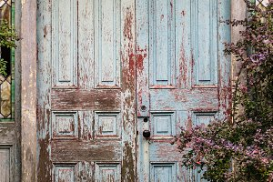 Weathered Old Door
