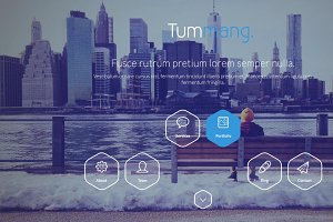 Tummang - Multi Purpose One Page Psd